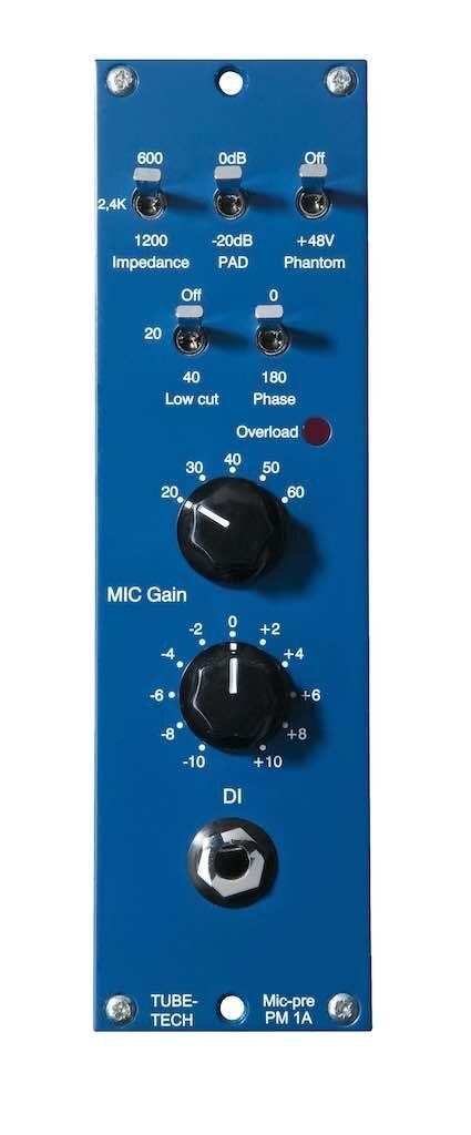 Tube-Tech pm1a preamp rack outboard hardware studio audio pro test recensione mattia panzarini effetto note audiofader