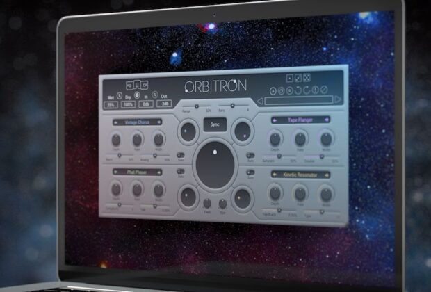 United Plugins JMC Orbitron software plug-in audio virtual mixing audiofader