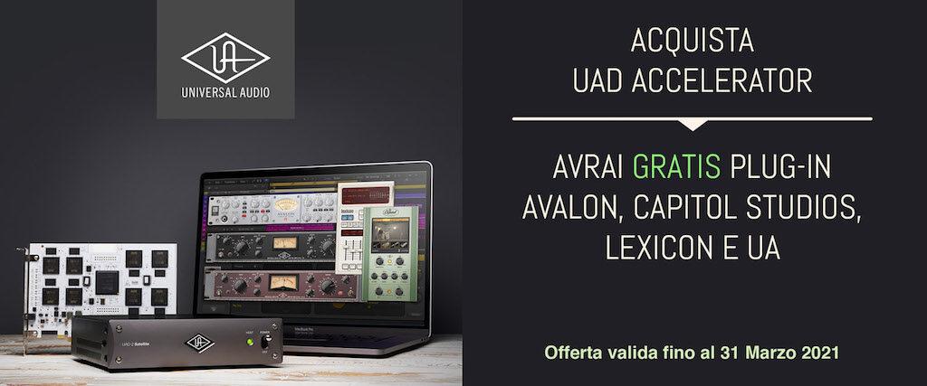 Universal Audio UAD Broadcast Promo plug-in bundle software mixing producer midiware audiofader