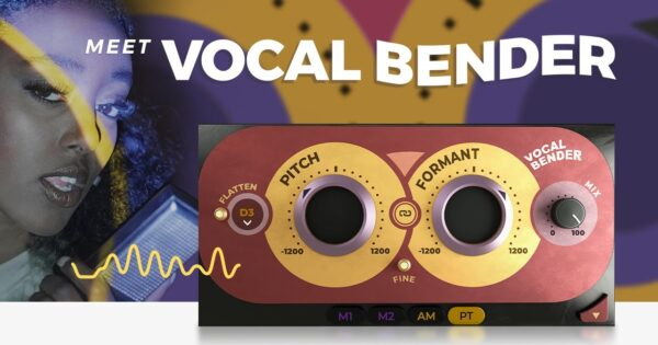 Waves Vocal Bender software plug-in audio vox pitch correction audiofader mixing