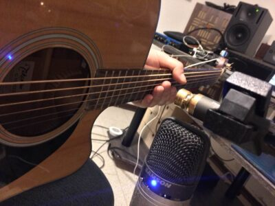 tutorial recording ms mid side mic studio registrazione andrea scansani audiofader gutiar chitarra