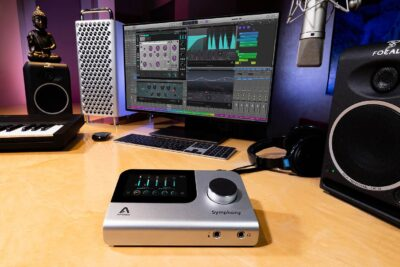 Apogee Symphony Desktop hardware audio interfaccia recording home project studio soundwave audiofader