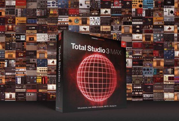 Ik Multimedia Total Studio 3 Max software bundle plug-in audio audiofader