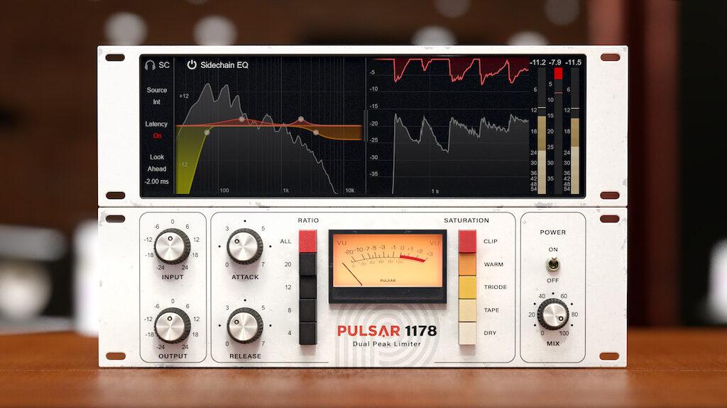 Pulsar Audio 1178 plug-in audio mixing software daw audiofader urei