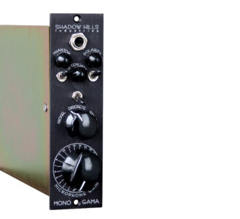Shadow Hills Industries Mono Gama hardware outboard rack funky junk recording preamp audiofader luca pilla review recensione test