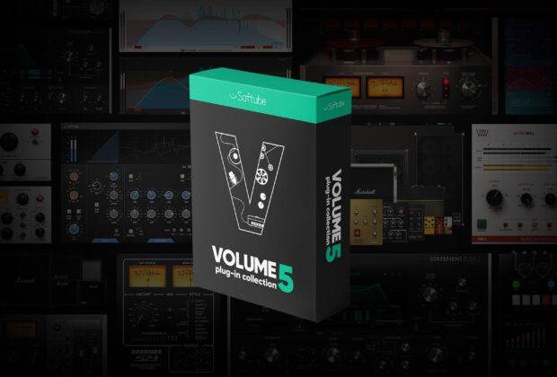 Softube Volume 5 bundle plug-in virtual mixing software daw midiware audiofader