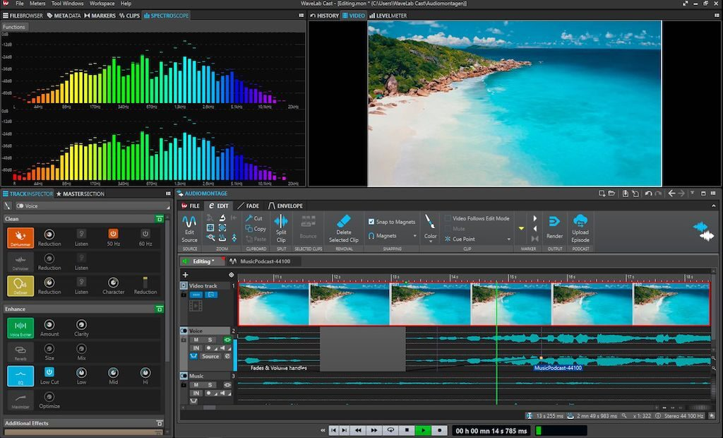 Steinberg WaveLab Cast daw software audio mixing podcast social media audiofader