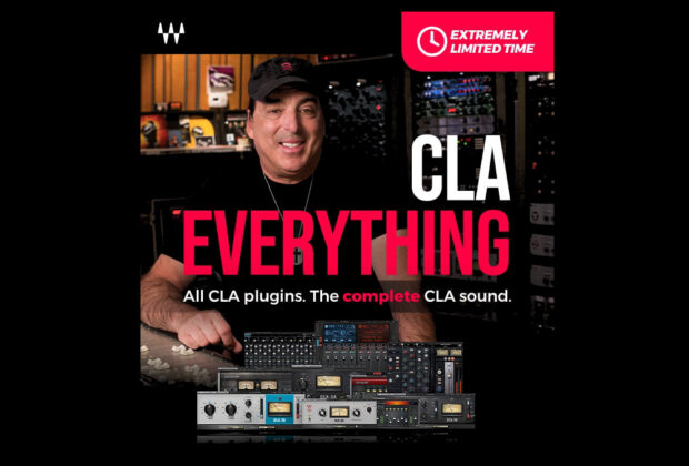 Waves CLA Everything software mixing bundle pro plug-in audiofader
