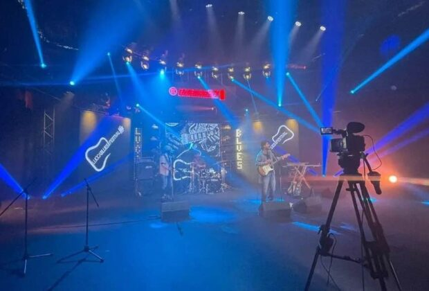 Amlanda Production avid venue live sound Lucca Blues festival audiofader