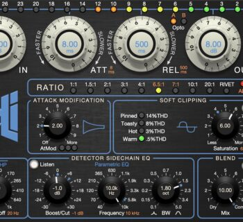 Empirical Labs Arousor plug-in audio mixing software daw audiofader distressor