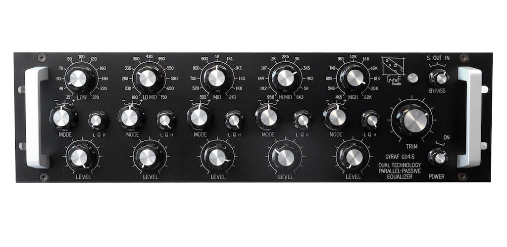 Gyraf G14-S eq hardware outboard studio recording mixing pro vdm group audiofader