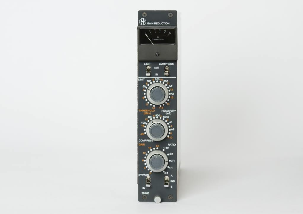 Heritage Audio 2264E hardware mixing comp pro studio midi music luca pilla test review recensione audiofader