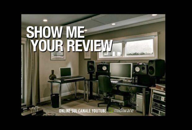midiware video recensioni youtube audio pro audiofader
