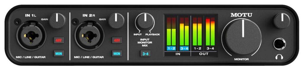 Motu M4 M2 recensione smstrumentimusicali  andrea scansani recording home studio backline prezzo