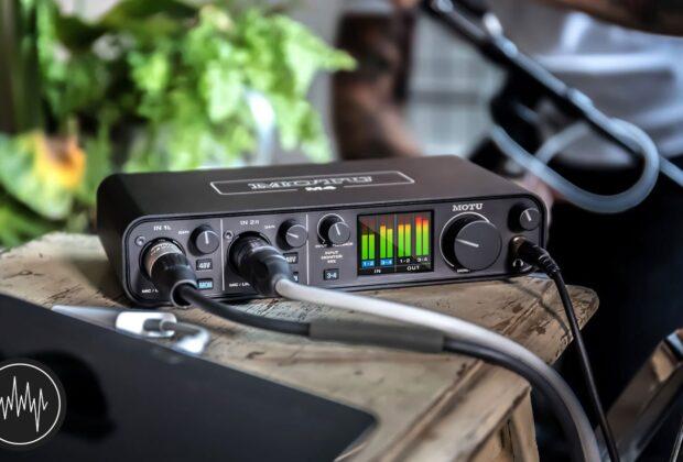 Motu M4 M2 recensione audiofader andrea scansani recording home studio backline prezzo MIDI