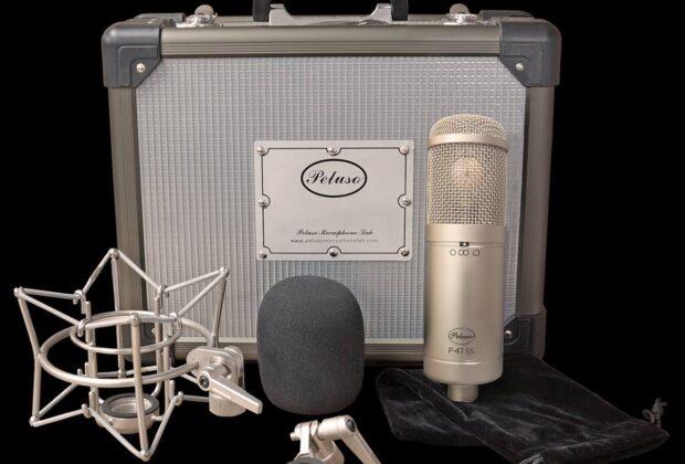 Peluso P-47 SS microfono condensatore FET studio pro audio recording audiofader