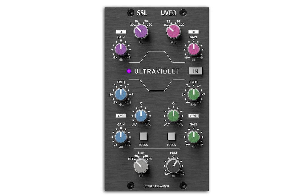 SSL 500 Ultra Violet EQ hardware outboard rack midiware audiofader