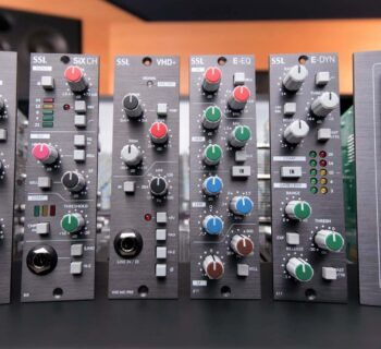 SSL 500 hardware outboard rack recording mixing analog midiware audiofader