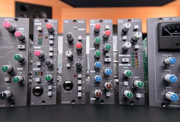 SSL 500 hardware outboard rack recording mixing analog midiware audiofader