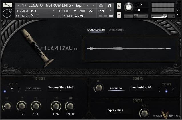 Silence+OtherSounds - Maleventum 2 sample library virtual instrument kontakt native instruments audiofader