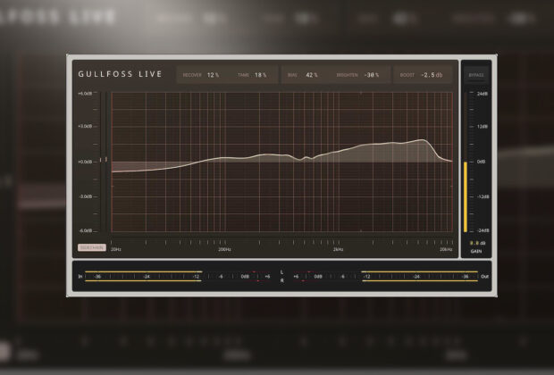 SoundTheory Gullfoss Live eq dinamico plug-in audio software daw audiofader