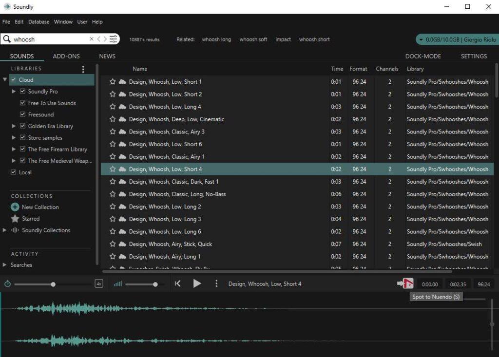 Steinberg Nuendo 11 prezzo test recensione review daw post production produzione vincenzo bellanova audiofader daw software soundly