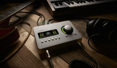 Universal Audio Apollo Solo interfaccia recording home studio uad plug-in hardware midiware audiofader