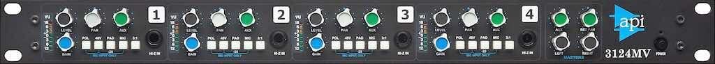 API 3124MV API 312 review opinion recensione test console funky junk luca pilla audiofader prezzo