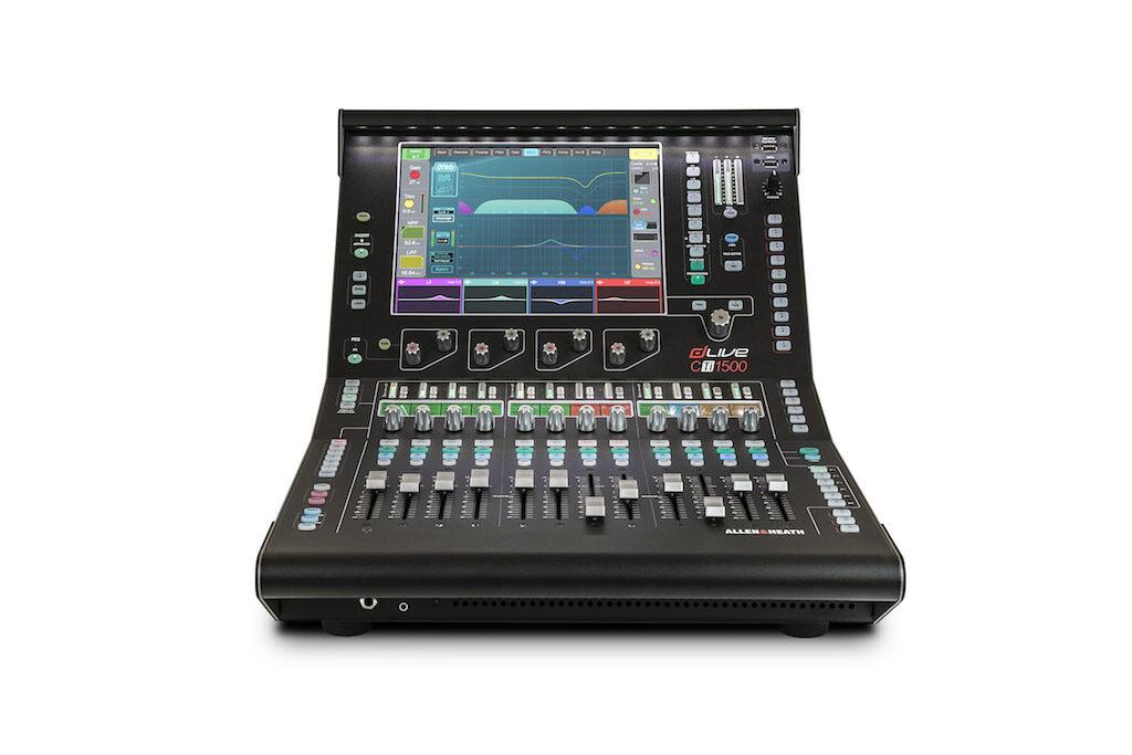 Allen&Heath dLive CTi1500 mixer live hardware sound audio exhibo audiofader