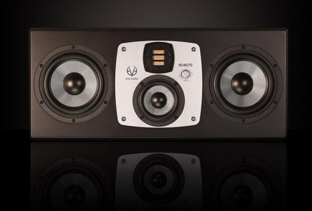 Eve Audio SC4070 monitor audio studio pro mix recording soundwave audiofader
