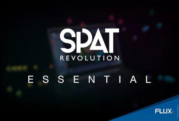 Flux Spat Revoluzione Essential plug-in audio software mixing audiofader