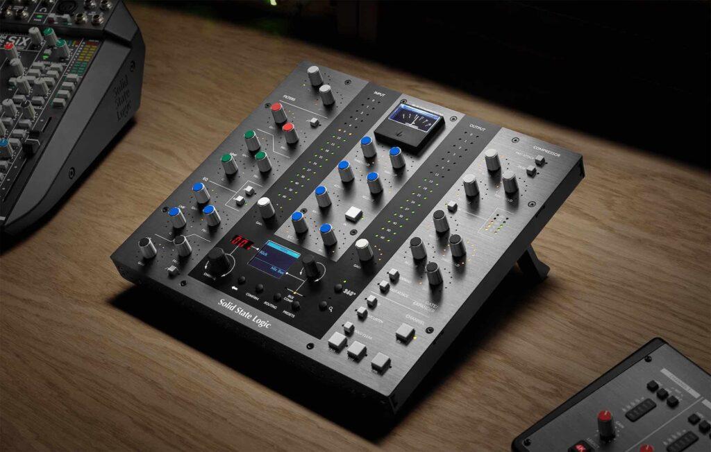 SSL UC1 hardware controller daw mix midiware audiofader