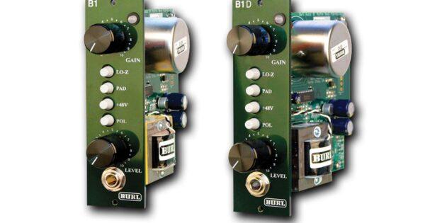 Burl Audio B1 B1D preamp hardware rack api500 recensione test review audio pro recording audiofader mattia panzarini digiland
