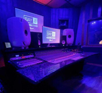 Genelec 8361A BayEight studios miami the ones monitor speaker studio recording mixing audiofader midiware