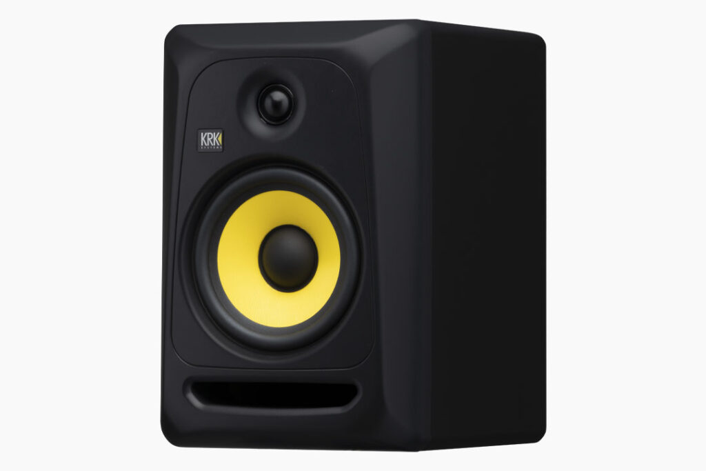 KRK Classic 7 monitor audio speaker home project pro studio mixing recording dj point mpi electronics audiofader