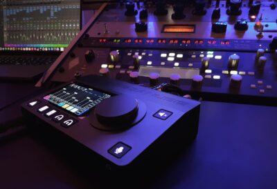 Merging technologies Anubis vdm group hardware interfaccia audio audiofader evento