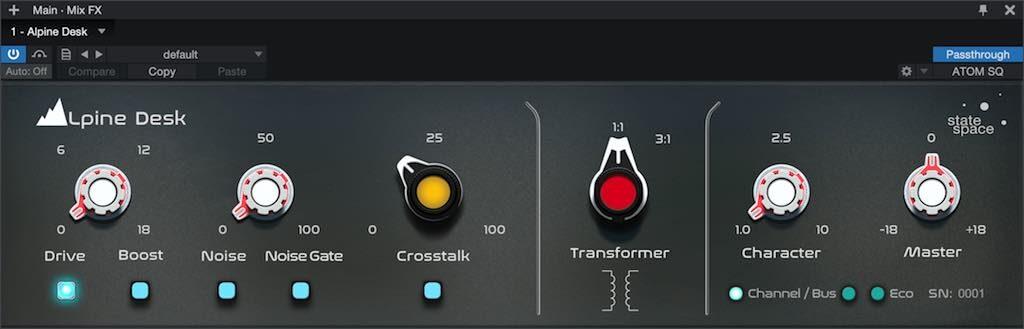 Presonus Retro Mix Legends plug-in mix bundle software audio itb Alpine Desk audiofader