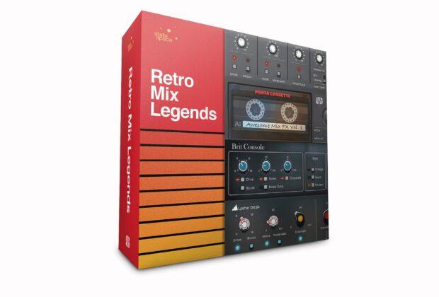 Presonus Retro Mix Legends plug-in mix bundle software audio itb audiofader