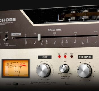 Softube Tape Echoes software plug-in audio mixing delay midiware audiofader