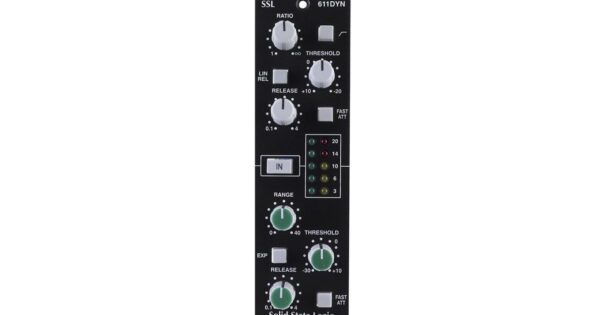 Solid State Logic 611DYN hardware test recensione review recording mixing midiware audiofader mattia panzarini