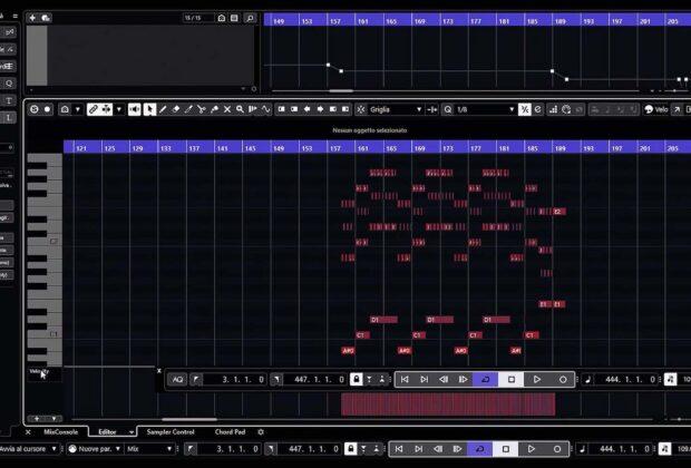 Steinberg Cubase tutorial midi software daw virtual audiofader pierluigi bontempi video tutorial
