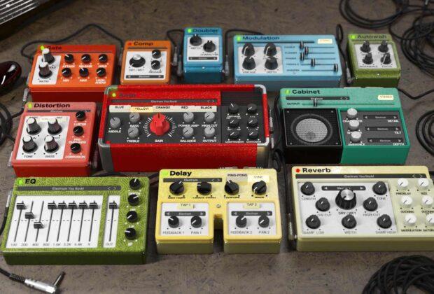United Plugins Muramasa Audio Electrum plug-in software guitar rig amp cabinet audiofader