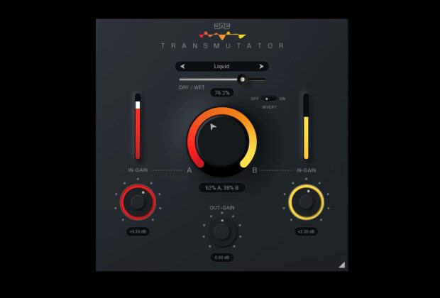 United Plugins Transmutator plug-in audio software mixing virtual daw audiofader test recensione review
