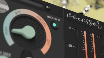 United Plugins Voxessor plug-in audio broadcast voce mixing podcast video audiofader