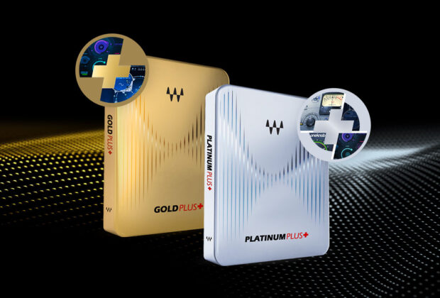 Waves Gold Platinum Plus software mixing plug-in audio abbonamento subscription audiofader