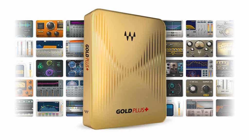Waves Gold Plus software mixing plug-in audio abbonamento subscription audiofader
