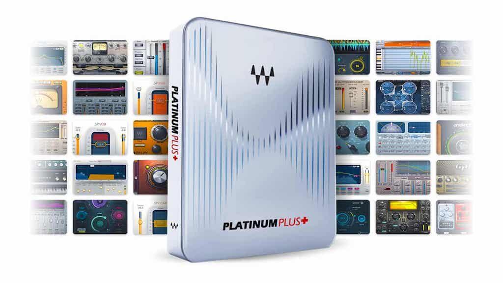 Waves Platinum Plus software mixing plug-in audio abbonamento subscription audiofader