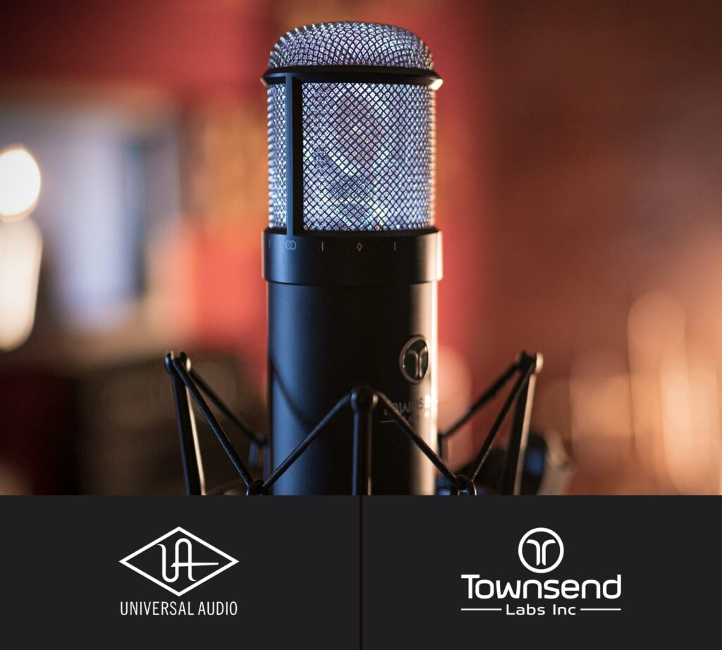 townsend universal audio acquisition sphere l22 microfono virtual midiware audio pro audiofader