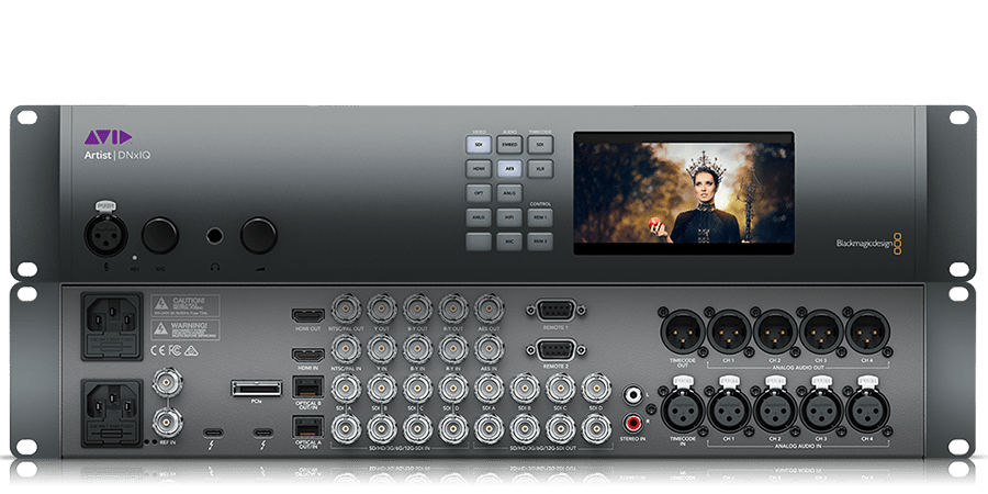 Avid Artist DNxIQ video hardware audiofader