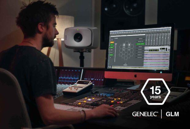 Genelec GLM 4.1 software calibrazione monitor audio speaker studio recording producer mixing pro midiware audiofader